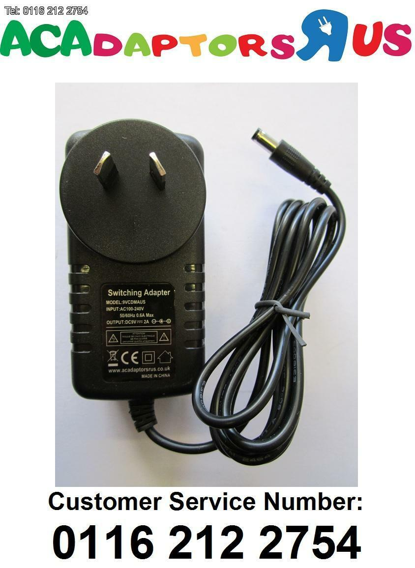 9V 1A Mains AC-DC Switch Mode Adapter Power Supply with 3.5mmx1.3mm 3.5x1.3 Tip
