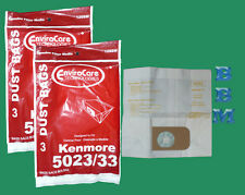 12 Sears Kenmore 5023 5033 Type E 02050006000 609196 Canister Vacuum Cleaner Bag