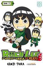 ROCK LEE les Péripéties d'un Ninja en herbe Tome 1 Kenji Taira PARODIE NARUTO