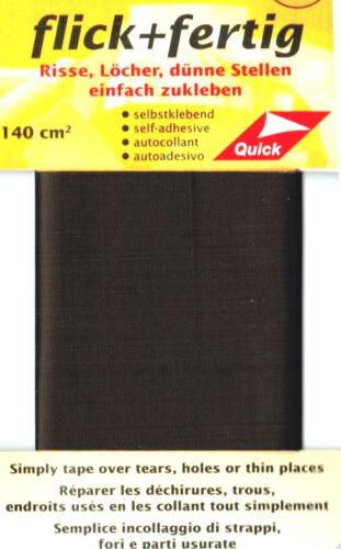 1x Reparatur Klebe Flicken 14 verschiedene Farben Flick und Fertig selbstklebend