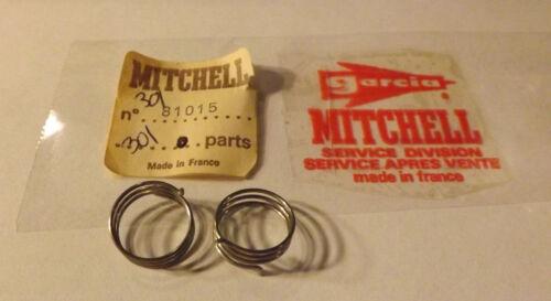 2 NOS Garcia Mitchell 301 304 306 406 401 340 Fishing Reel Bail Springs  81015