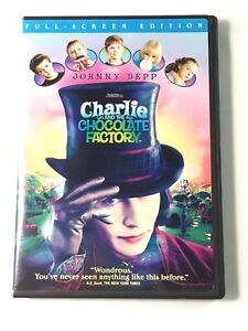 Charlie-and-the-chocolate-factory-DVD-Full-Screen-Tim-Burton-Johnny-Depp