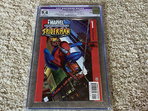 2000-Ultimate-Spider-Man-1-034-DIRECT-RED-EDITION-034-CGC-Graded-9-4-NM