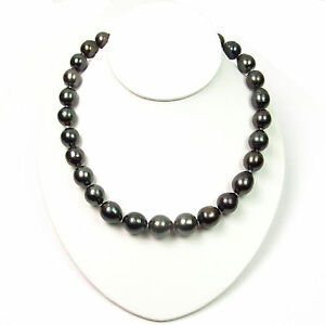 18-034-12-14-5mm-Baroque-Tahitian-Black-Pearl-Strand-Nacklace-14K-White-Gold-Clasp