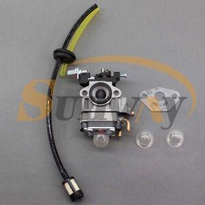 Carburateur-et-Tuyau-Kit-pour-RUIXING-H119-26cc-Tondeuse-a-gazon-1E36F-Moteur