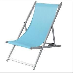 Sdraio Per La Spiaggia.Sdraio Spiaggia Spiaggina 5 Posizioni In Alluminio E Texilene Colore