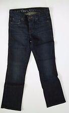 Calvin Klein Jeans Women's 26/2 Lean Boot cut Dark Stonewashed Flap Pockets