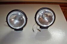 IRONTON 2pk 55w 12 volt HALOGEN SPOTLIGHTS FOG DRIVING CLEAR SPOT LIGHT