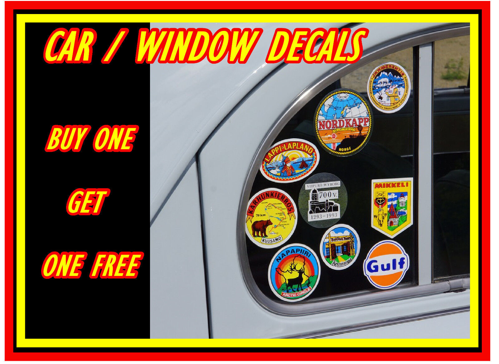 Make Supporters Proud Haters Jealous JDM I Love Car Decal Window Vinyl Sticker