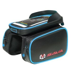 Cycling Bike Top Frame Front Pannier Saddle Tube Bag Double Pouch Waterproof