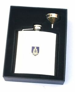 Royal Marines Army Regiment 6oz Hip Flask Personalised Gift BGK21 JRON8ho3-09110039-921428941