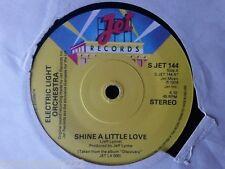 """VINYL 7"""" SINGLE - SHINE A LITTLE LOVE - ELO - SJET144"""