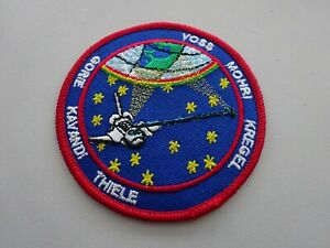 A50-3-USA-NASA-Weltraum-Mission-Space-Shuttle-Voss-Mohri-Gorie-Thiele-usw