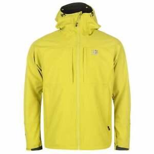 Mens-Karrimor-Alpiniste-Soft-Shell-Jacket-Softshell-Chin-Guard-New