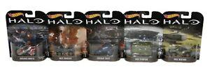 Mattel-Hot-Wheels-Halo-5-pieces-Vehicule-Set-1-64-Jeu-et-objets-NEUF