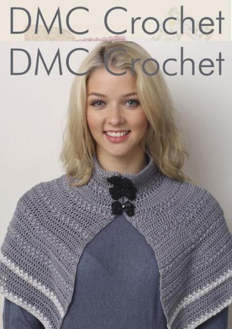 Long Loopy Fashion Scarf Winter Craft DMC Petra Crochet Pattern D11884L2
