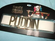 Harley Quinn Choker Suicide Squad Choker Neck Collar Puddin Necklace DC Comics