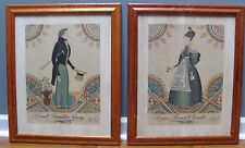 Antique Lionel Franklin Craig/ Annie Randall Yoxall framed prints, rare