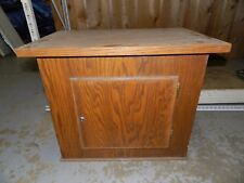 Nice Wooden Stand With Locking Door For Vending Machines In Rockford Illinois
