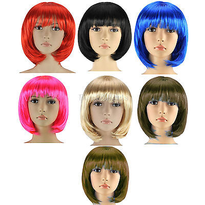 Gut New Ladies Womens Fashion Short Bob Style Full Wig Fancy Dress Party Cosplay