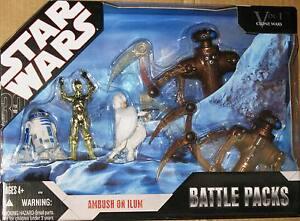 Star Wars Hasbro 30th Anniversary Collection AMBUSH ON ILUM Battle Pack MISB