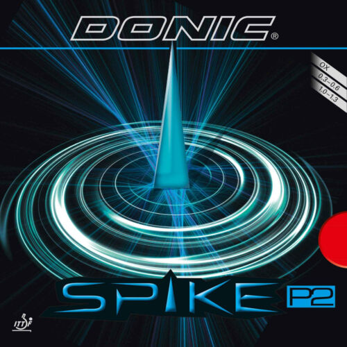 OVP Donic Spike P2 Spezialbehandelt und sehr langsam r//s OX neu