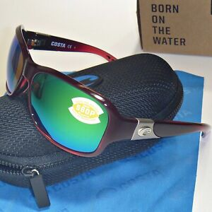 fedcb5ca2712 Image is loading Costa-Del-Mar-Inlet-Polarized-Sunglasses-Pomegranate-Fade-