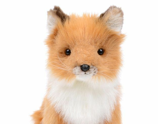 Miss oh/ Fox Baby /29cm Stuffed Plush Soft Toy Stofftier realistic