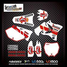 260 Yamaha YZ 125 250 02-11 Galfer Swingarm Black Decal Sticker MX