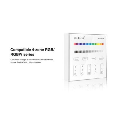 milight RGB RGBW RGB CCT Wandmontage Touch panel LED Licht Dimmer Steuerschalter