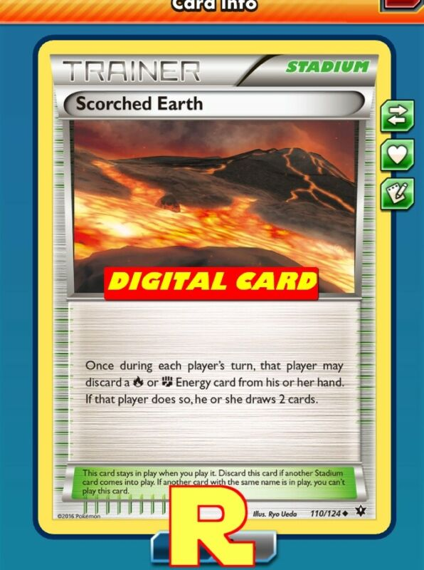 for Pokemon TCG Online DIGITAL ptcgo in Game Card 2x Ultra Space
