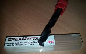 without coolant holes *ORIGINAL* YG1 DH424042K DREAM DRILLS 4,2mm 5xD