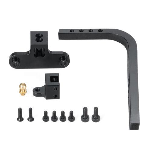 Metall Aluminium Einstellbar Anhängerkupplung Für Axial SCX10 1//10 RC Crawler
