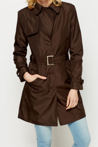 COLLECTION Spolverino D464 Tg S M L XL Trench Donna Giacca Soprabito C.M.P