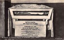 B86397 restos de francisco pizzarro en la basilica  lima  peru