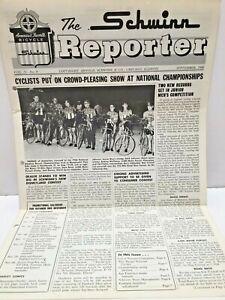 The Schwinn Reporter 1966 Dealer newspaper