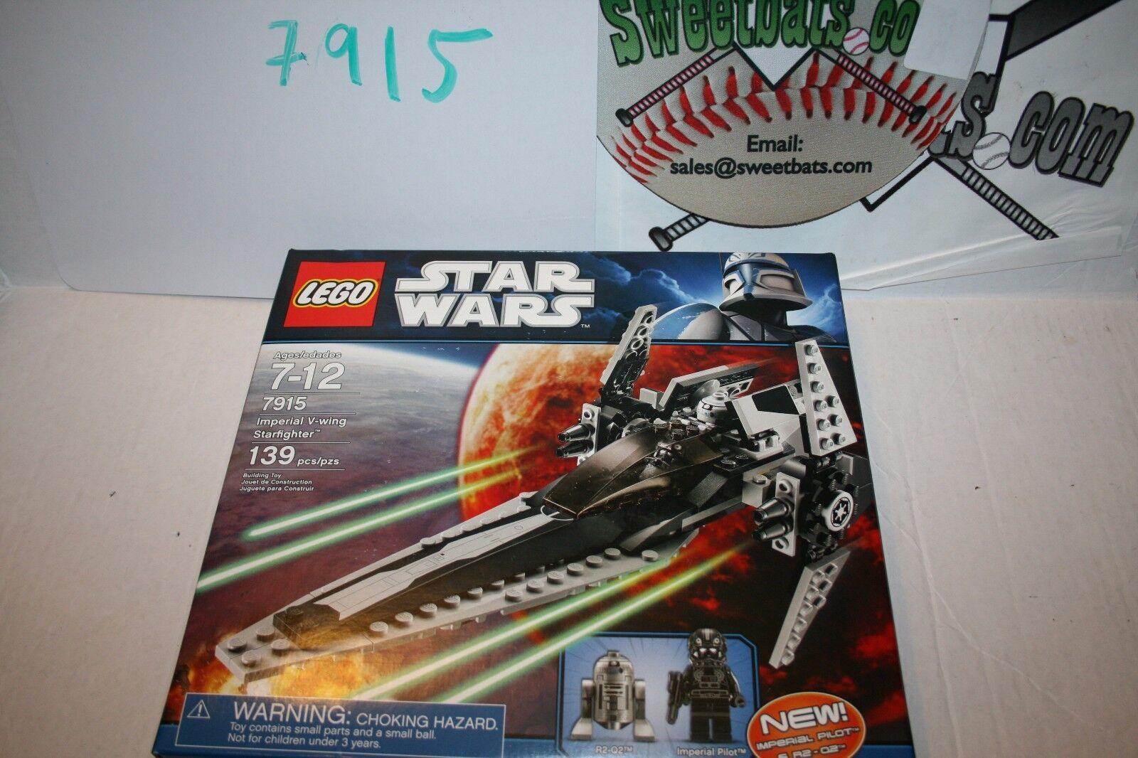 RETIrosso LEGO estrella guerras 7915 Imperial V  Wing estrellacombatiente nuovo NIB R2 D2 139 pieces  ti renderà soddisfatto