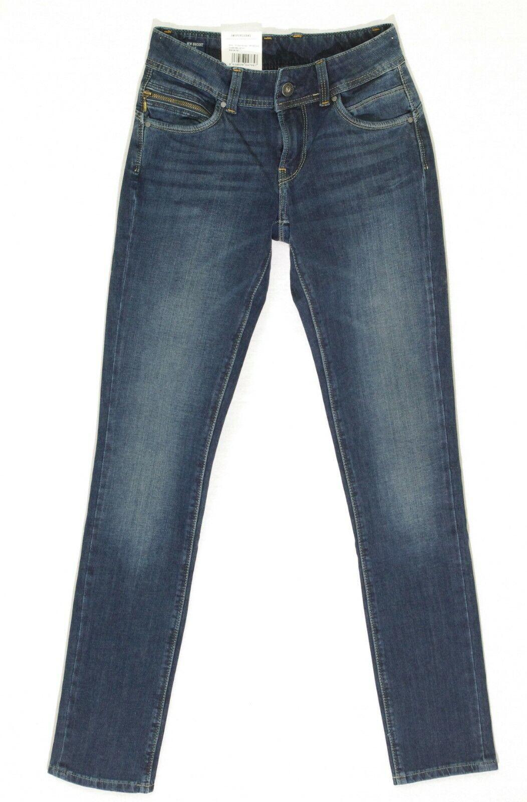 a0eff53eef4 PEPE JEANS NEW BROOKE jean slim fit femme bleu PL200019CD62 W 24 L ...