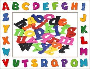 KIDS-SET-LEARNING-TEACHING-MAGNETIC-TOY-LETTERS-FRIDGE-COLOURED-MAGNETS-ALPHABET