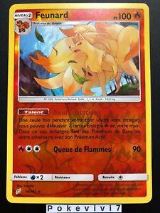 Carte-Pokemon-FEUNARD-16-181-Rare-REVERSE-Soleil-et-Lune-9-SL9-FR-NEUF