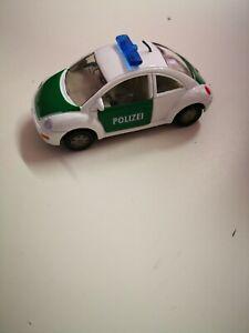 Siku-VW-Beetle-1096-polizia-1097-7-5-cm-di-lunghezza-vetrina-modello-da-collezione