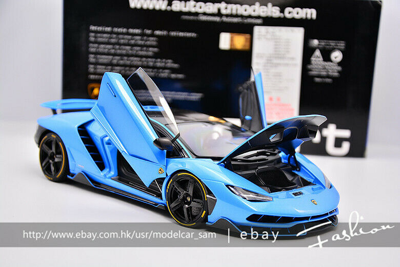 AUTOart 1 18 Lamborghini LP770 bluee