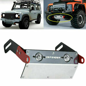 Chassis-Edelstahl-Front-Lampe-Guard-fuer-Land-Rover-Traxxas-TRX4-DJC-9171-Crawler