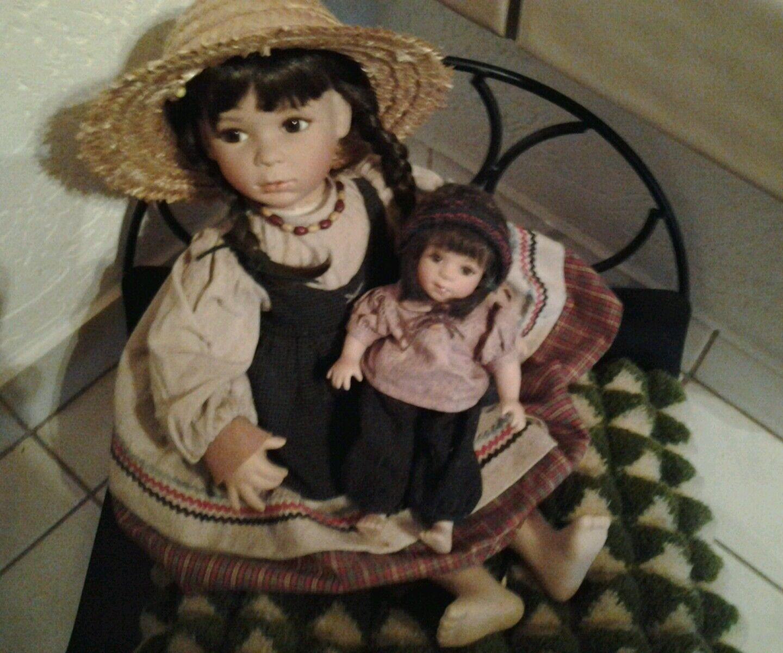 Bisquitporzellan Puppenpaar  Celena u. Natalina   Limitierte Auflage 1000 Stück