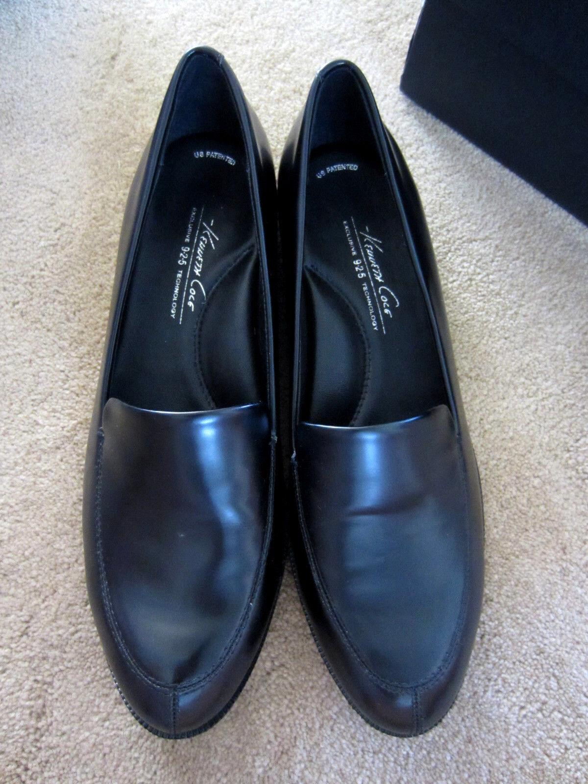 Kenneth Cole Damenschuhe Hudson CA Slip On Top Grain Leder Loafer Schuhes 120 NIB