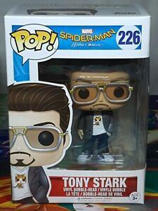 Spider-Man-Home-Coming-Tony-Stark-Pop-226-Vinyl-Bobble-Head-Figure-Funko-Aus