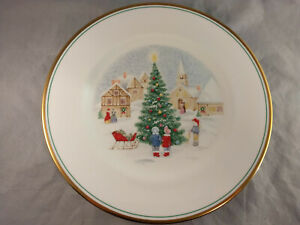 Mikasa-Merry-Christmas-12-034-Chop-Plate-Round-Serving-Platter