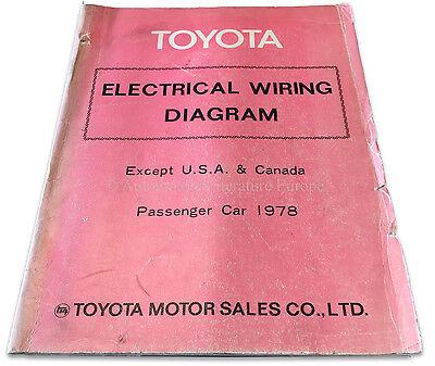 1978 Toyota Passenger Car Electrics Wiring Diagrams ...