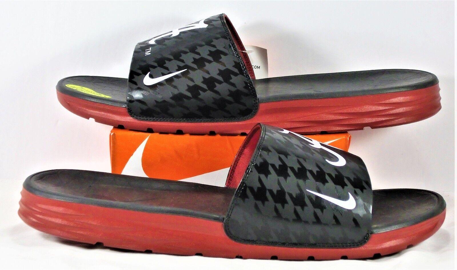 Nike Benassi Solarsoft Alabama Roll Crimson Tide Slides Sz 15 NEW 844631 001
