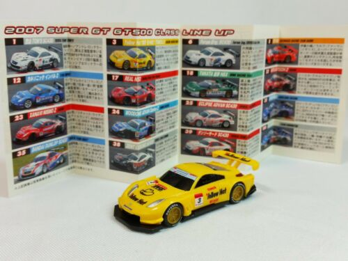 1:80 EBBRO Nissan Nismo Fairlady Z Super GT GT500 2007 Yellow Hat Tomica #3 UCC
